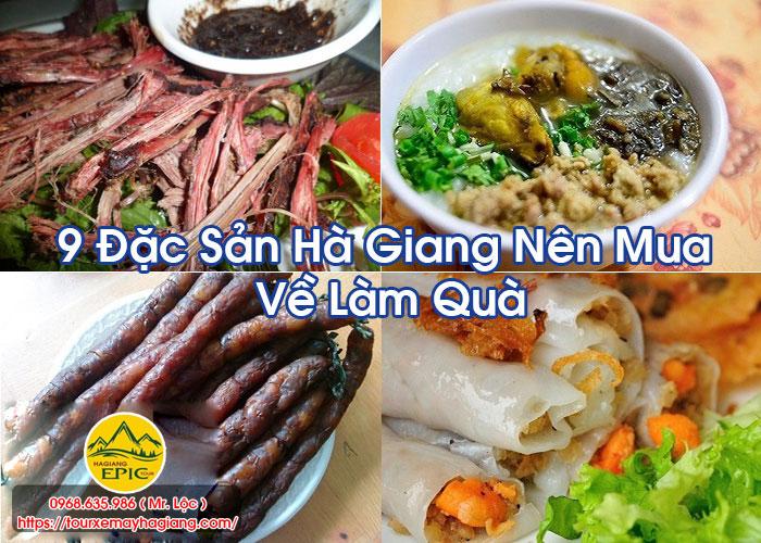 9 Dac San Ha Giang Nen Mua Ve Lam Qua